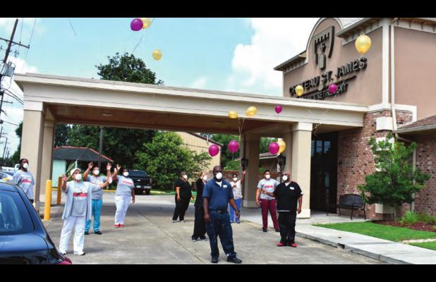 Chateau St. James Celebrates Being COVID Free