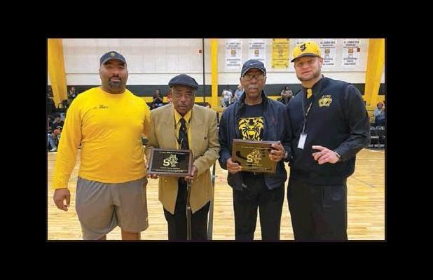 Basketball Coaches John Brass And Lionel Ezidore Named Wildcat Legends