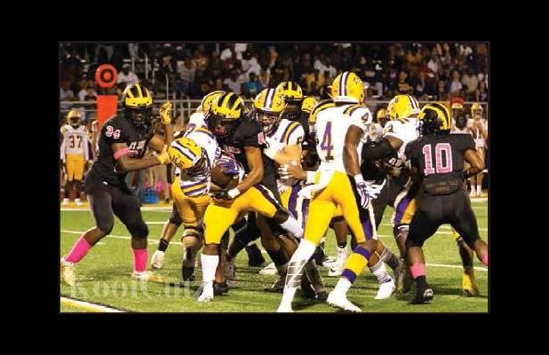 Wildcats Run Over Bulldogs To Win In-Parish Rivalry