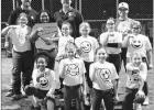 "Lady Rippers Gold 10U USSSA Halloween Shocker Class ""C"" Champions"