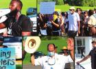 Locals Speak Out Against Police Brutality With Peaceful Protest