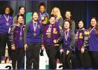 The 2020 Lutcher High Girls Powerlifting Team traveled to Assumption Parish to compete in the Bayou Region Championship and the girls placed 1st in eight weight classes and finished 2nd in three others. The girl's team has won the State Championship 13