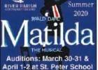 "River Parish Community Theatre Announces ""Matilda"", Sets Auditions"